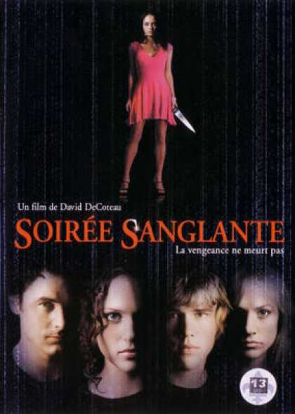 French DVDs - Soiree Sanglante