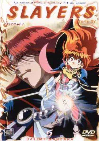 French DVDs - Slayers 5
