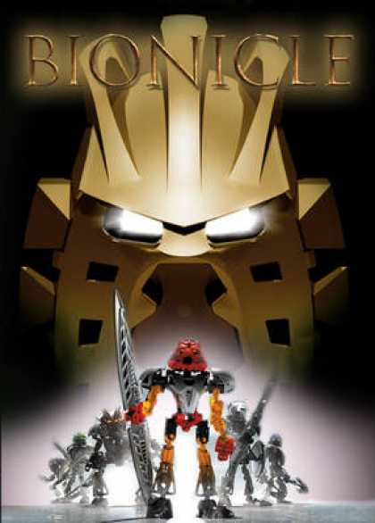 French DVDs - Bionicle 1
