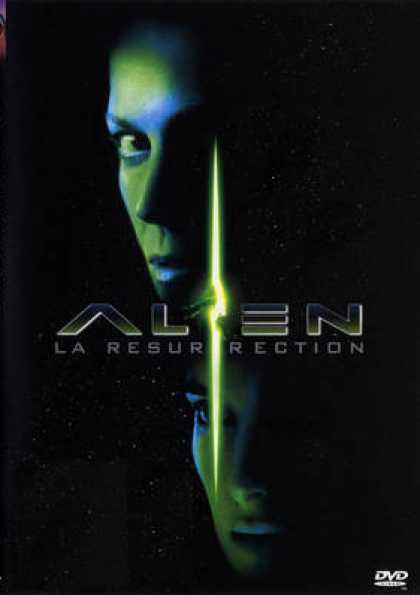 French DVDs - Alien 4