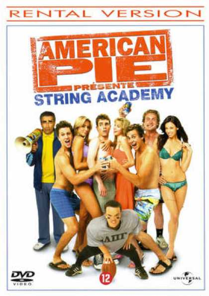 French DVDs - American Pie Naked Mile
