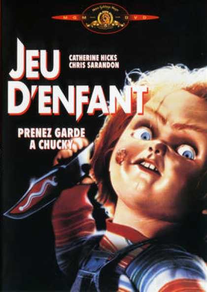 French DVDs - Chucky