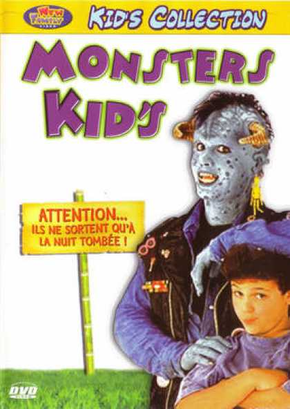 French DVDs - Monsters Kid's