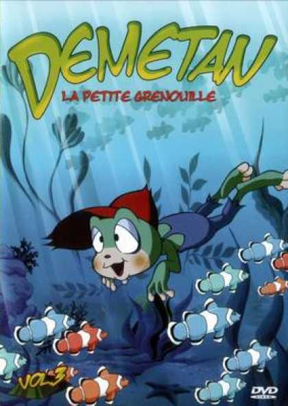 French DVDs - Demetan The Little Frog Vol 3
