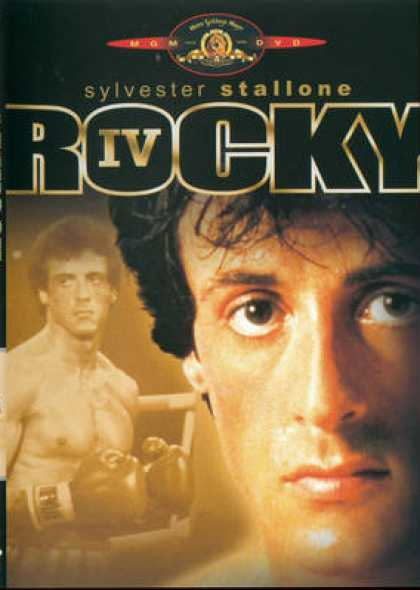 French DVDs - Rocky 4
