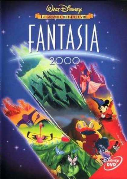 French DVDs - Fantasia 2000 French Canadian