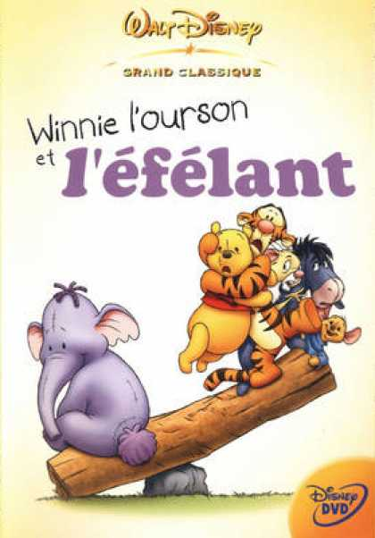French DVDs - Winnie The Poo & The Elephant