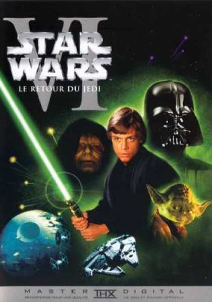 French DVDs - Star Wars Trilogy French Episode 6