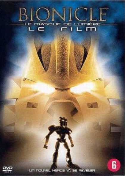 French DVDs - Bionicle: Mask Of Light