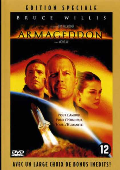 French DVDs - Armageddon