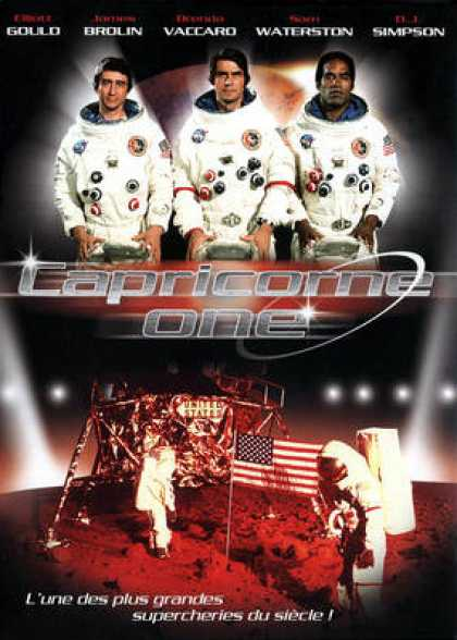 French DVDs - Capricorne One