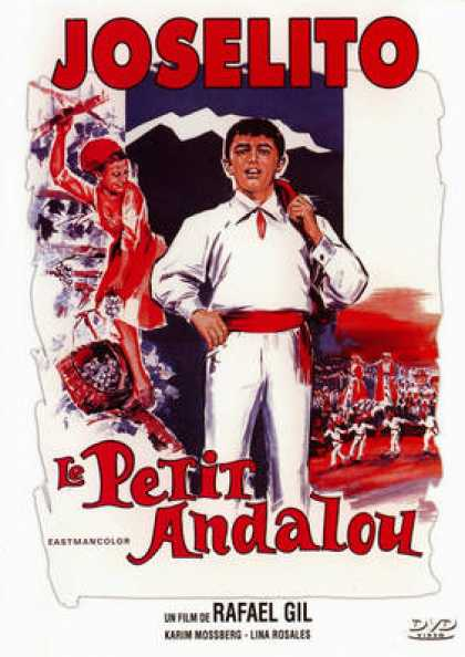 French DVDs - Joselito - Le Petit Andalou