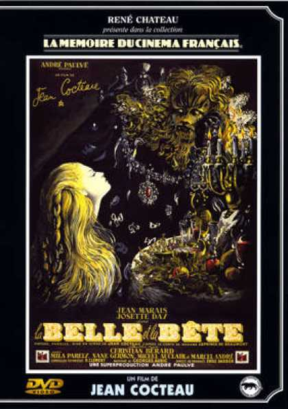 French DVDs - La Cocteau Belle Et La Bête