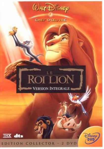 French DVDs - The Lion King 2