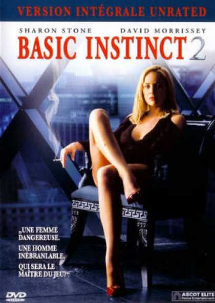 French DVDs - Basic Instinct 2