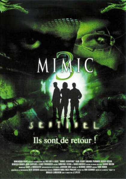 French DVDs - Mimic 3
