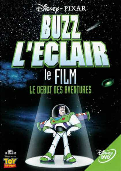 French DVDs - Buzz Lightyear
