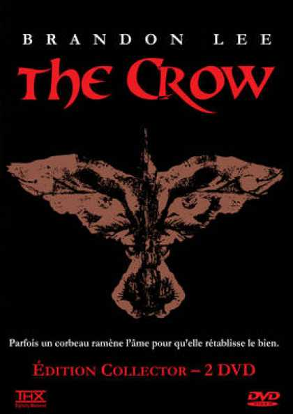 French DVDs - The Crow
