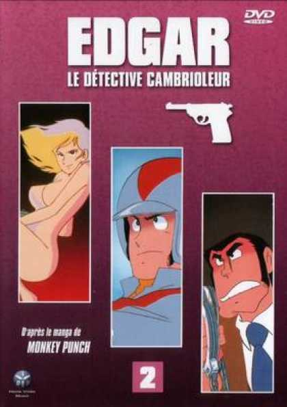 French DVDs - Edgar The Detective Vol 2