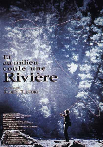 French DVDs - Et Au Millieu Coule Une Riviere