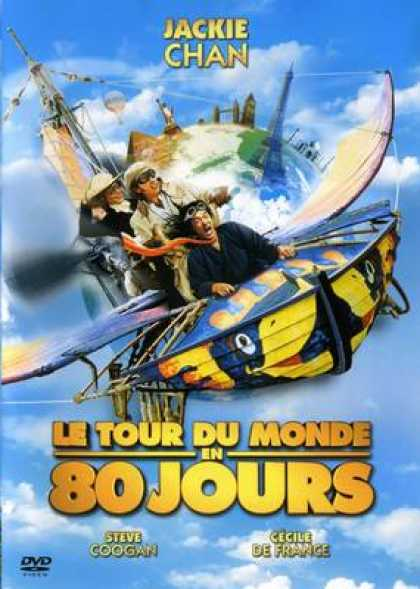 French DVDs - Around The World In 80 Days