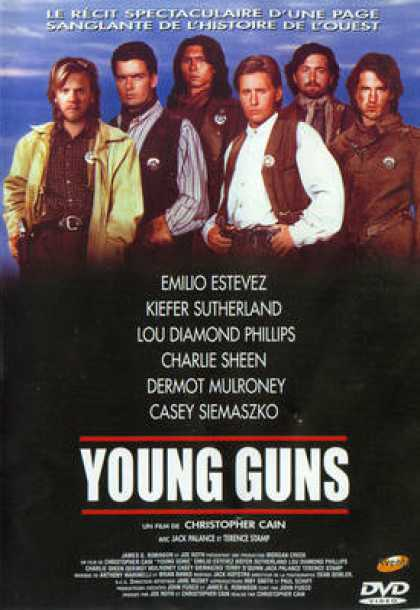 French DVDs - Young Guns