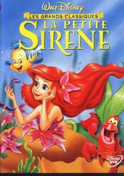 French DVDs - The Little Mermaid