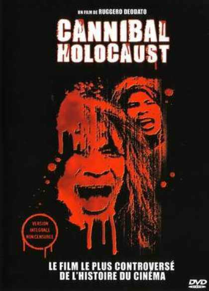 French DVDs - Cannibal Holocaust Widescreen