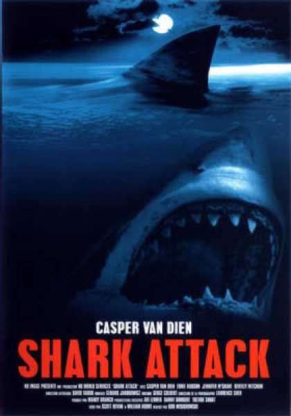 French DVDs - Shark Attack