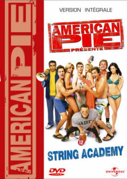 French DVDs - American Pie: String Academy!