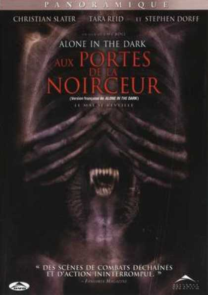French DVDs - Alone In The Dark FRENCH ENGLISH
