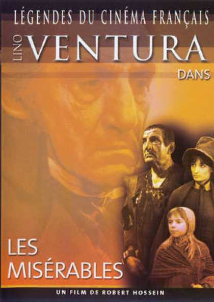 French DVDs - Les Miserables