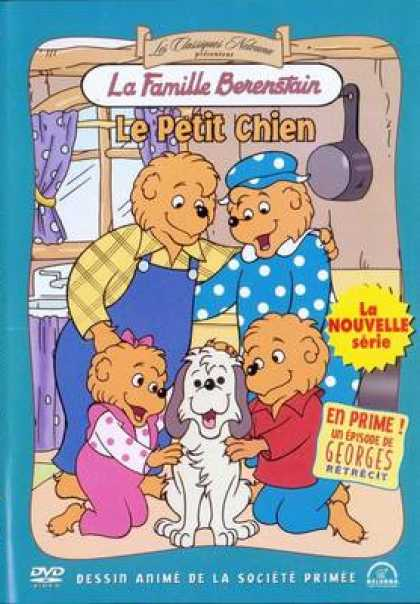 French DVDs - The Berenrenstain Bears Trouble With Pets
