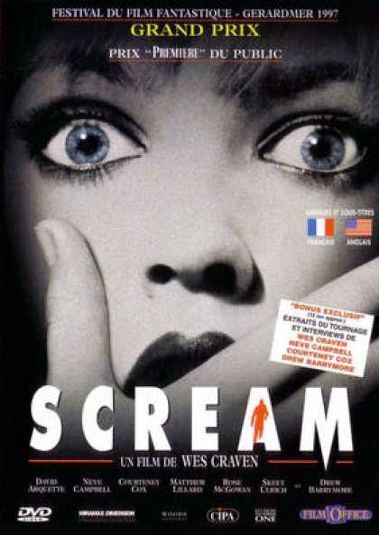 French DVDs - Scream