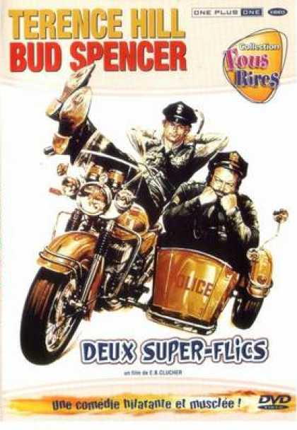 French DVDs - Two Supercops