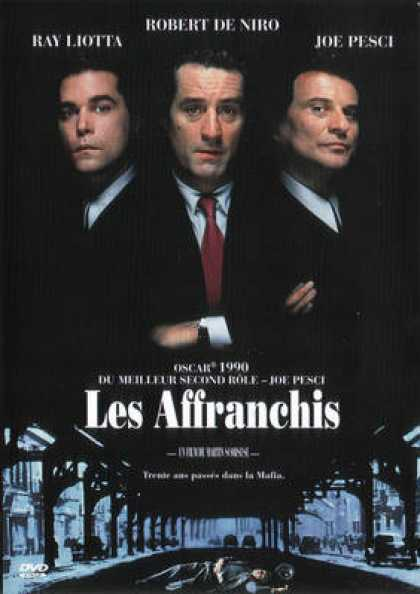 French DVDs - Les Affranchis