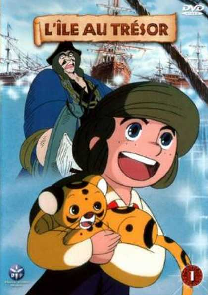 French DVDs - The Adventures On Treasure Island Vol 1