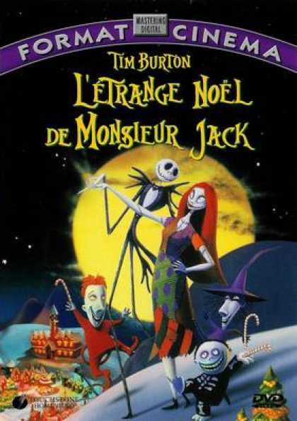 French DVDs - Nightmare Before Christmas