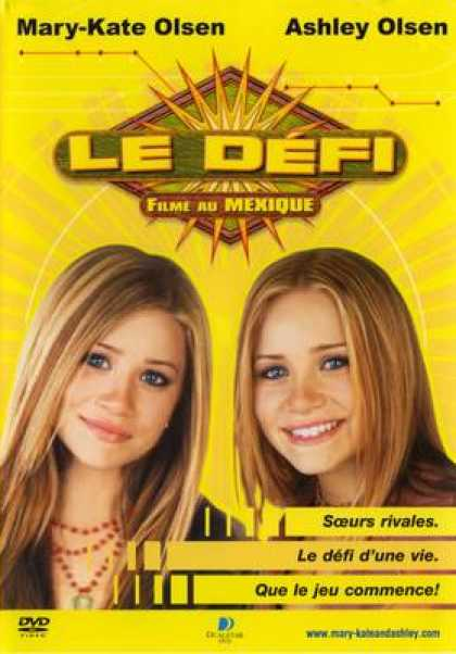 French DVDs - Le Defi