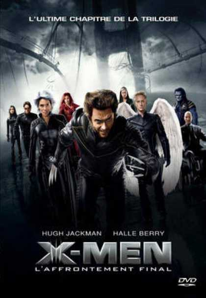 French DVDs - X Men 3