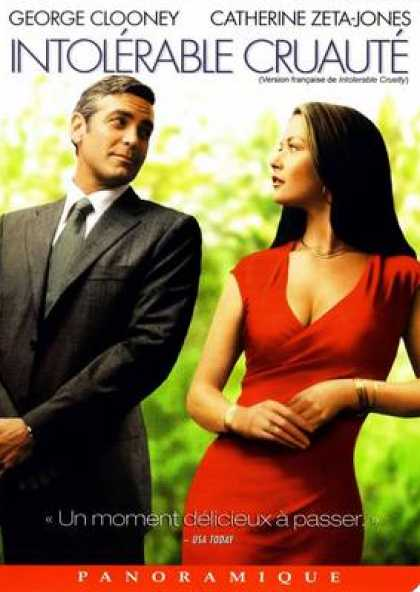 French DVDs - Intolerable Cruelty
