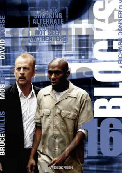 French DVDs - 16 Blocks