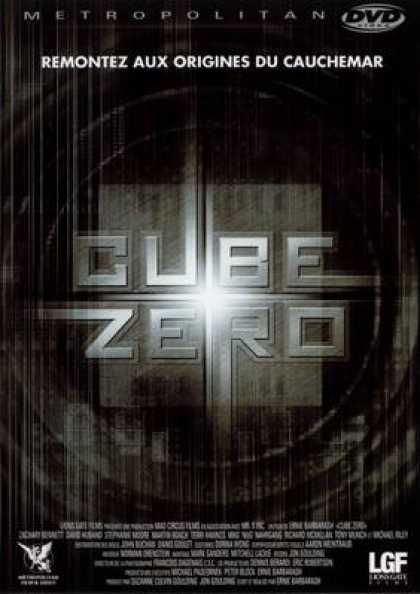 French DVDs - Cube Zero