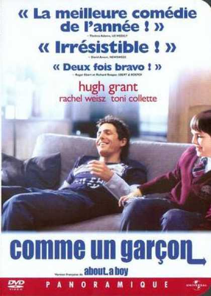 French DVDs - About A Boy