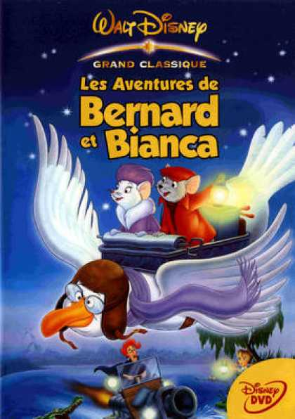 French DVDs - Bernard Et Bianca