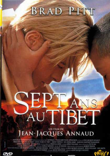French DVDs - Sept Ans Au Tibet