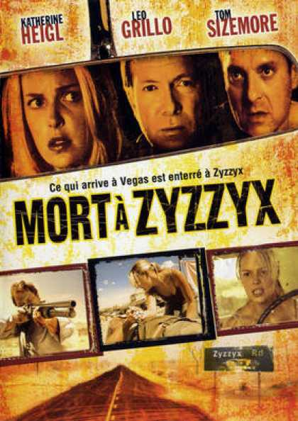 French DVDs - Mort A Zyzzyx