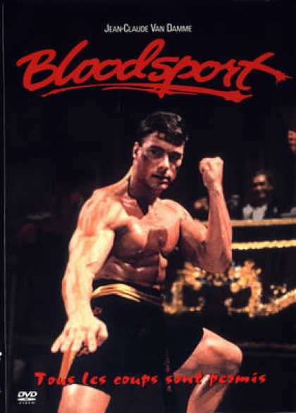 French DVDs - Bloodsport 1