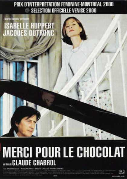 French DVDs - Merci Pour Le Chocolat