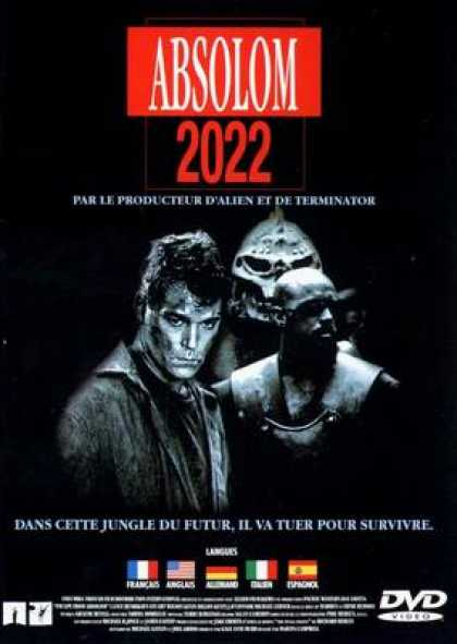 French DVDs - Escape From Absolom